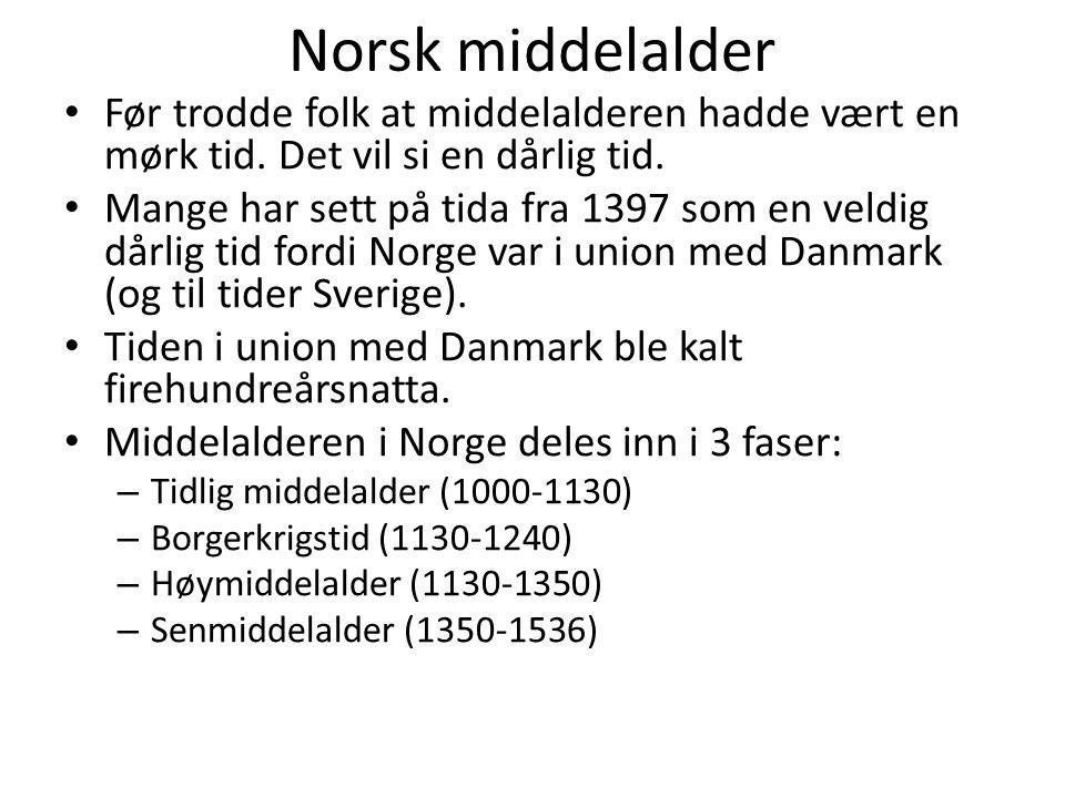 Stavkirkene i Numedal • Uvdal, Nore, Rollag og Flesberg • Alle 4 er trolig fra 1100-tallet.