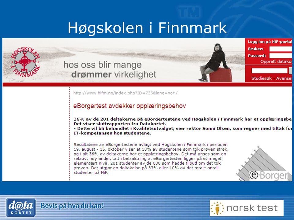 33 Høgskolen i Finnmark