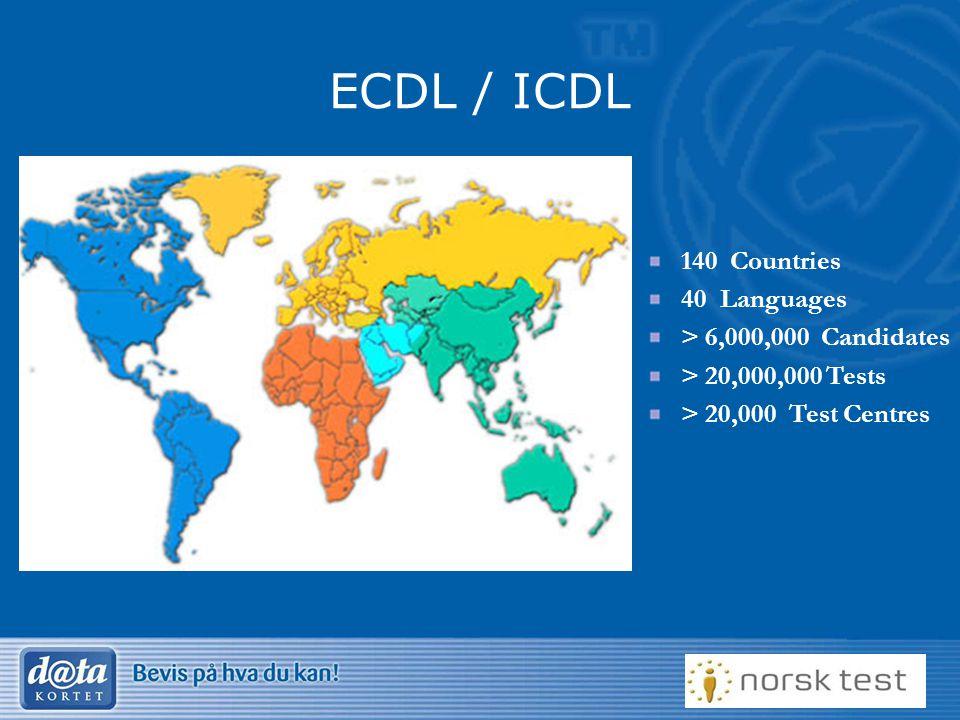 9 Datakortet internasjonalt