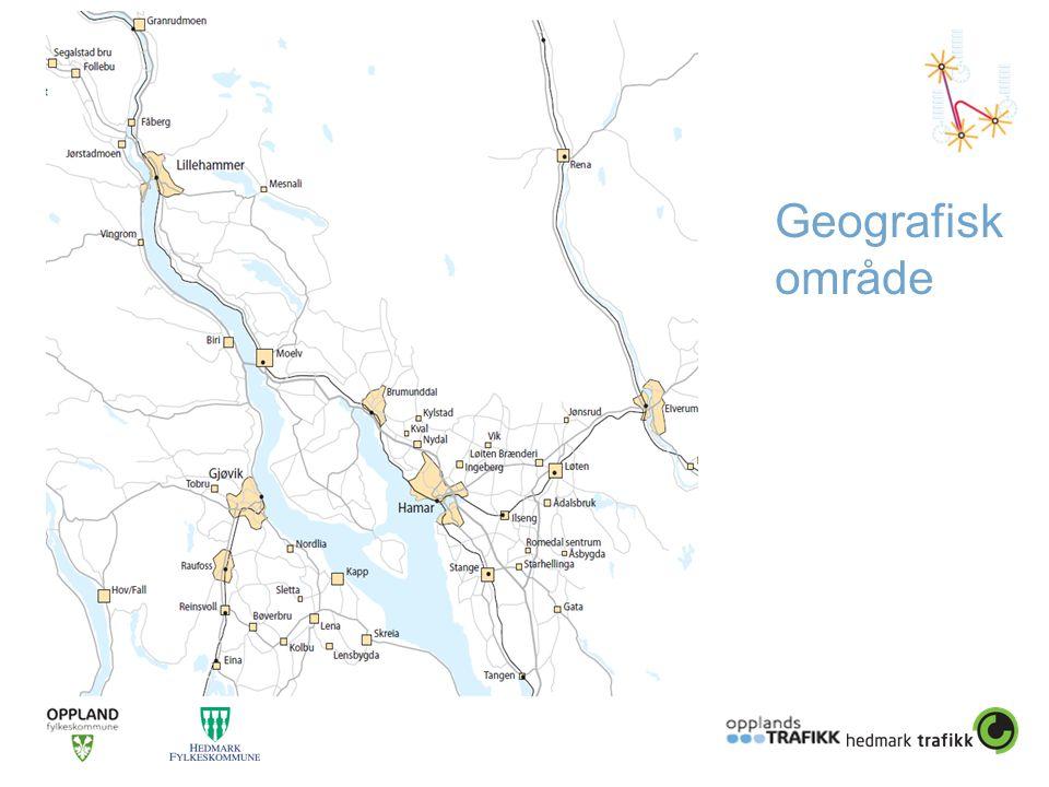Geografisk område