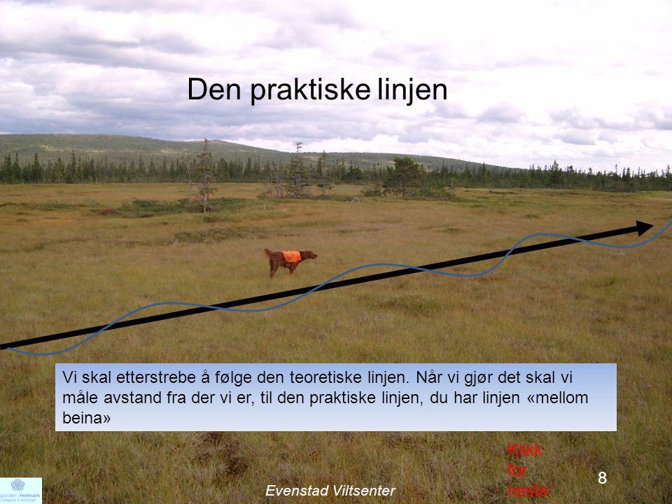 10 Den praktiske linjen Vi skal etterstrebe å følge den teoretiske linjen.