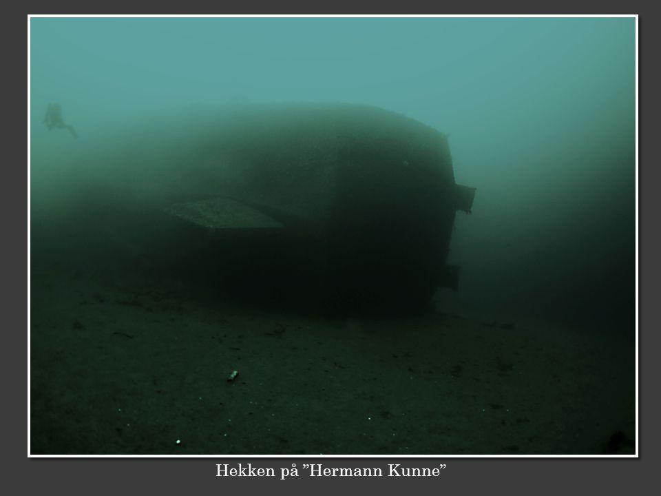 """Hekken på """"Hermann Kunne"""""""