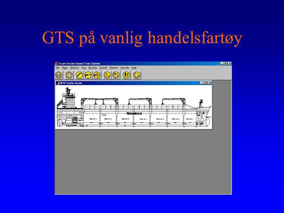 GTS på vanlig handelsfartøy