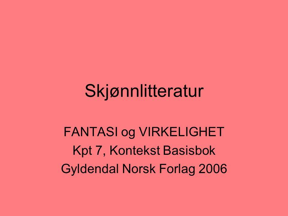 Norske forlag skjønnlitteratur
