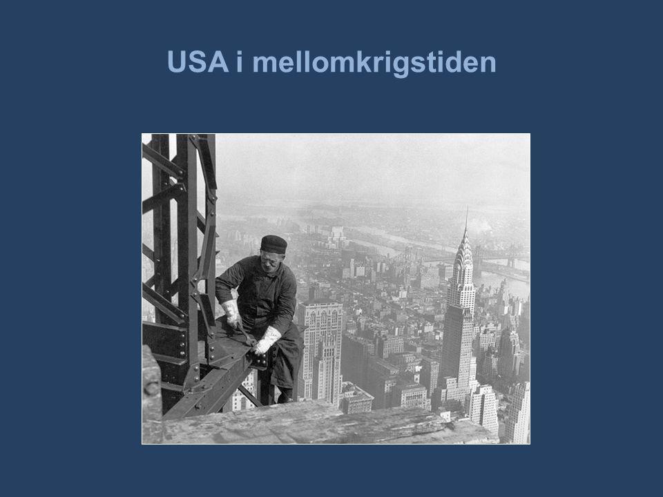 USA i mellomkrigstiden