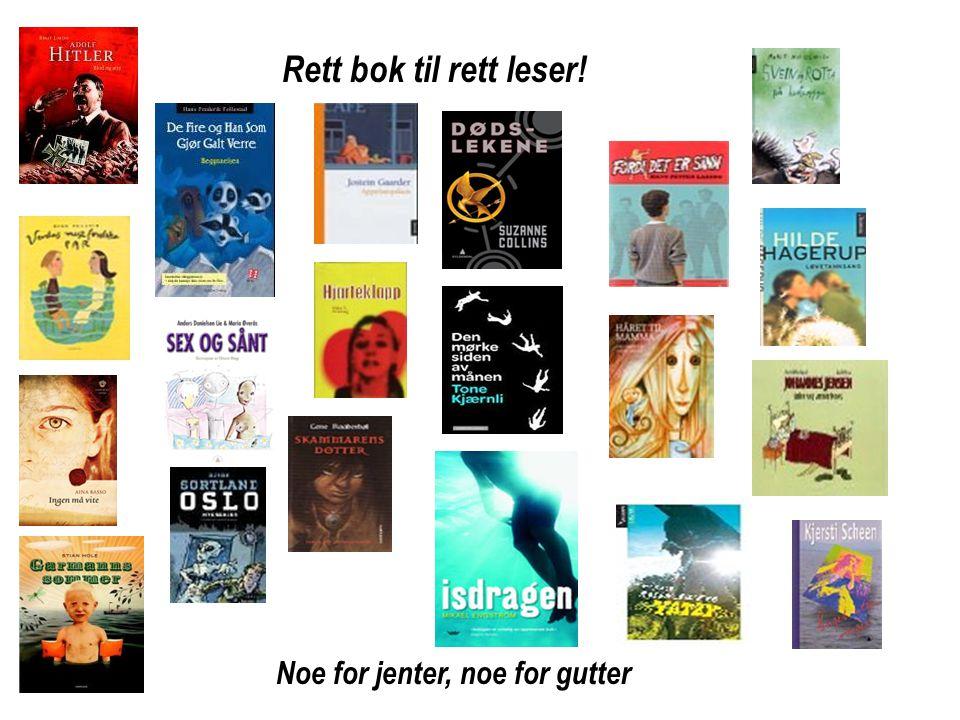 TANKEKART Leif Harald I ungdomsromanen Fordi det er sånn av Hans Petter Laberg Er redd for Mats og vennene hans.
