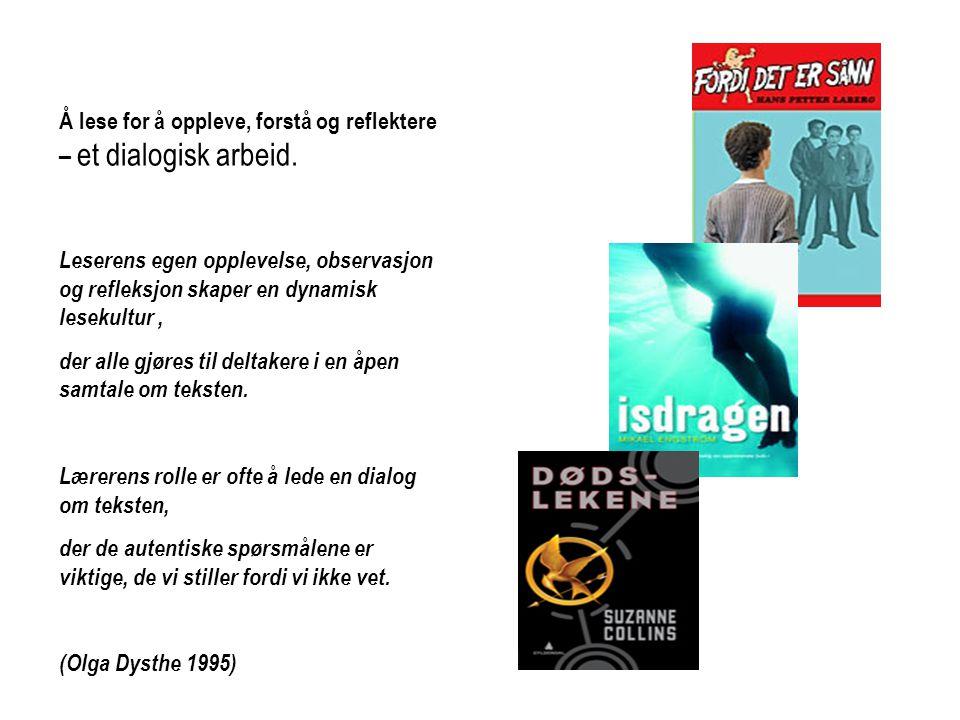 Grunnmodellen 1.Lese/lyttetid 2.Tenketid 3.Samtaletid 4.Hurtigskrivetid 5.Responstid Elevene er organisert i pargrupper.