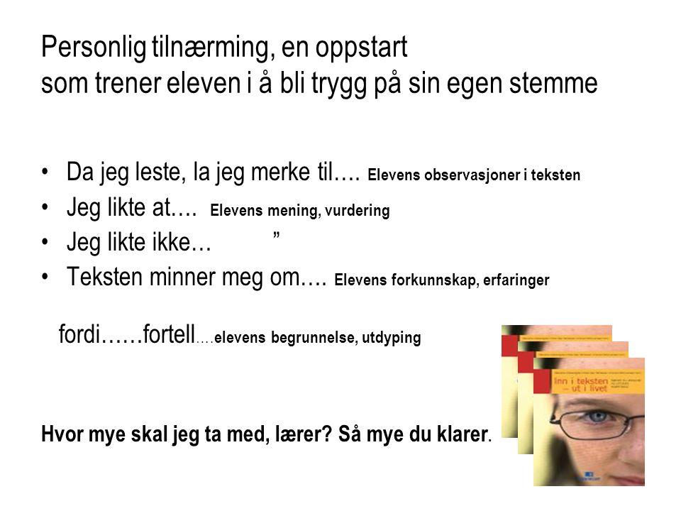 Todelt logg Fra ytre handling til fortolkning Rune Belsviks kort-tekst Svart bilde Teksten handler om: (Dette skjer..) Henrik fotograferer ei jente utenfor kirka.