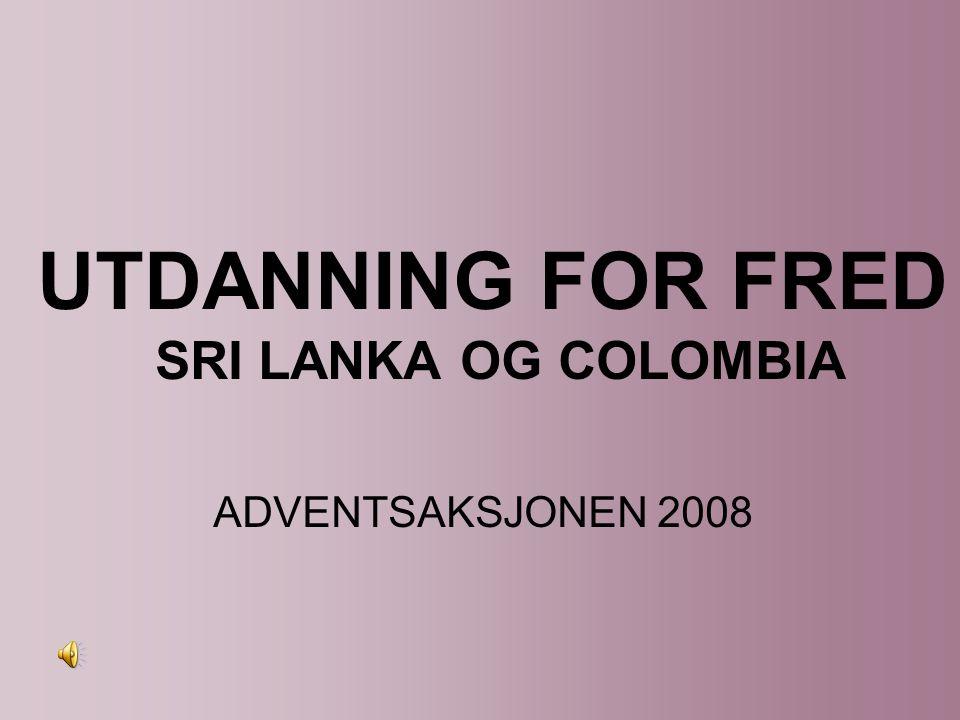 Under et besøk i Sri Lanka snakket en Caritas medarbeider en ung kvinne.