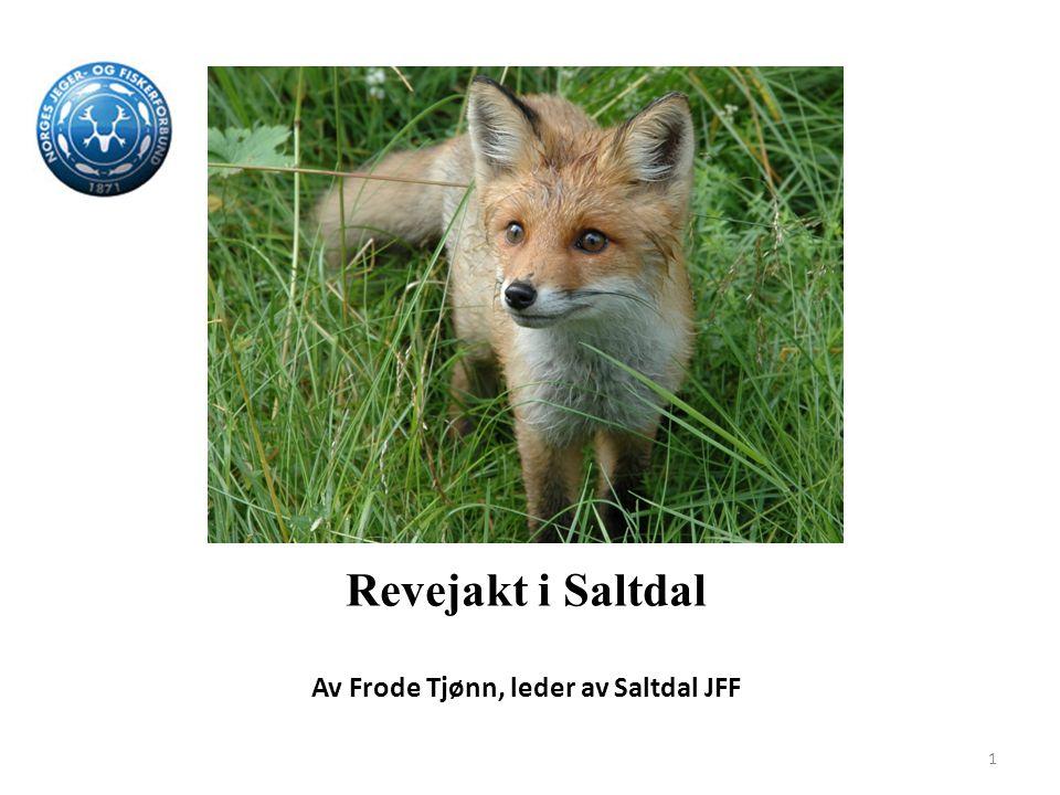 Revejakt i Saltdal Av Frode Tjønn, leder av Saltdal JFF 1