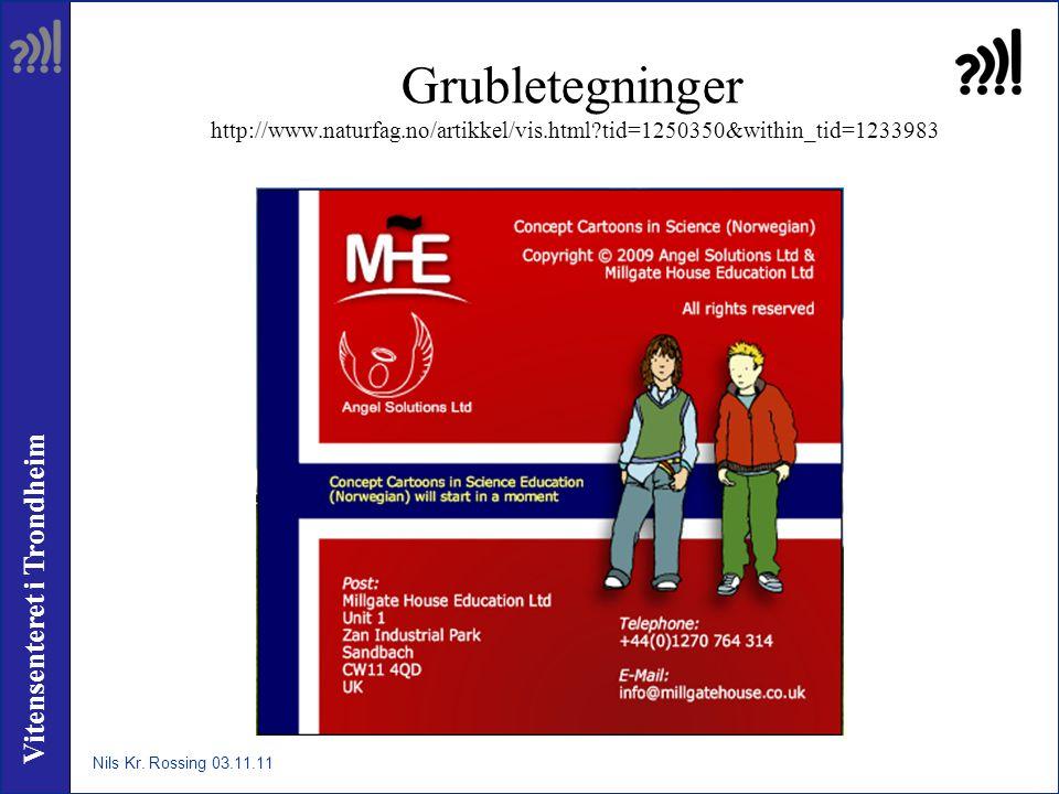 Vitensenteret i Trondheim Grubletegninger http://www.naturfag.no/artikkel/vis.html?tid=1250350&within_tid=1233983 Nils Kr. Rossing 03.11.11
