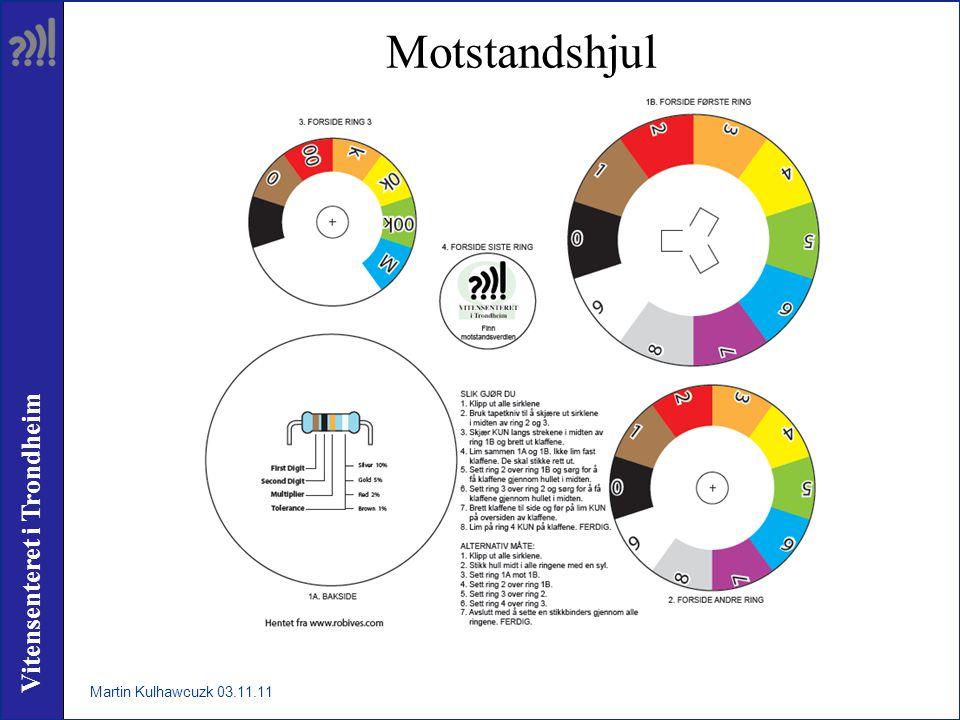 Vitensenteret i Trondheim Motstandshjul Martin Kulhawcuzk 03.11.11