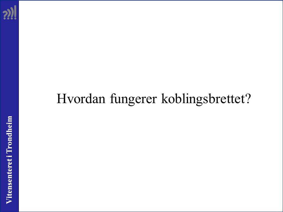 Vitensenteret i Trondheim Hvordan fungerer koblingsbrettet?