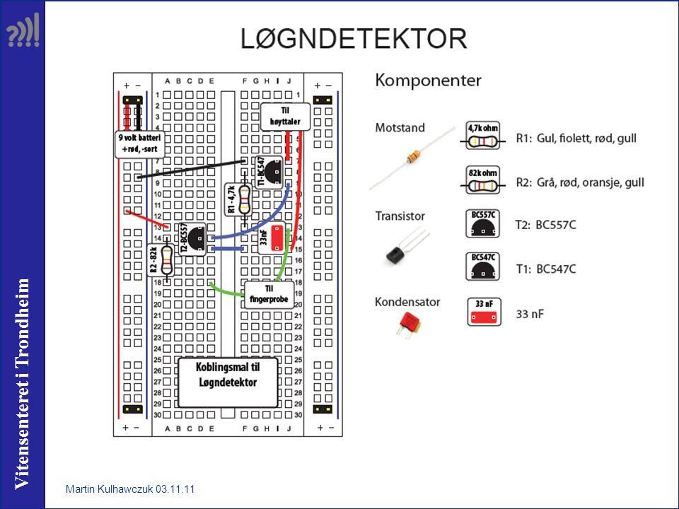 Vitensenteret i Trondheim Martin Kulhawczuk 03.11.11