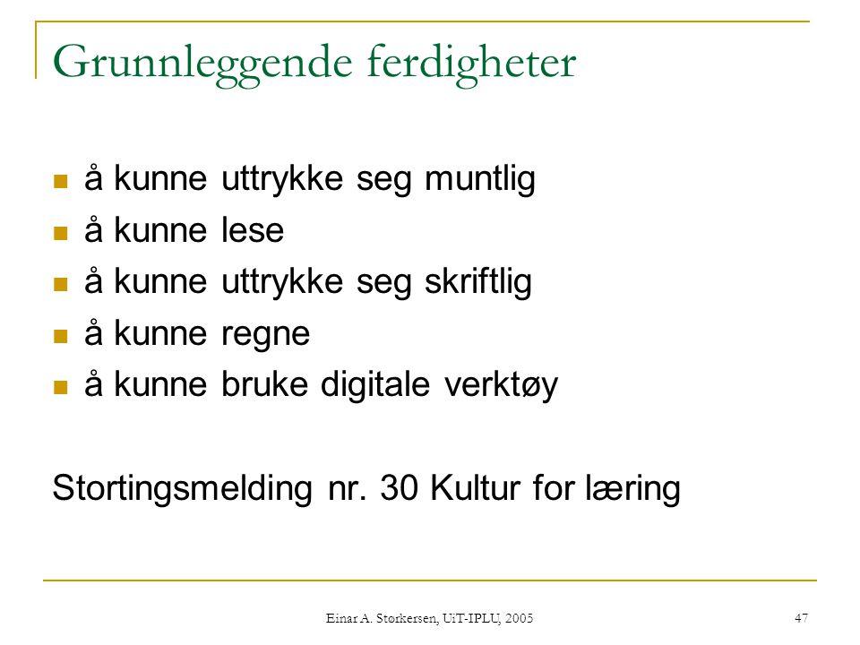 Einar A.