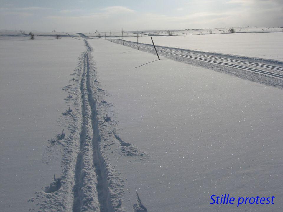 Oppkjørte løyper •Hastigheten øker  antall kilometer blir målet fremfor å være underveis.