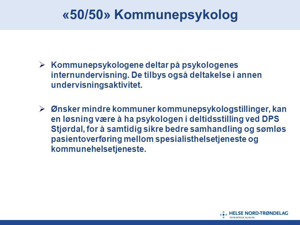  DPS Stjørdal ønsker å systematisk prøve ut en konkret modell for samhandling.