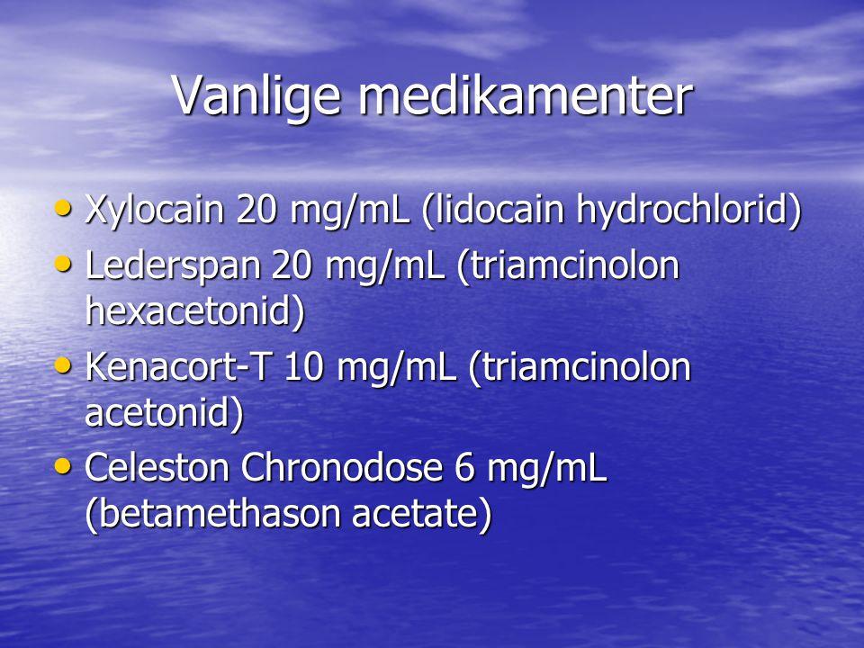 Oversikt over tilgjengelige steroidhormonpreparater med farmakologiske egenskaper (Fra Norsk fysikalsk medisin 2.