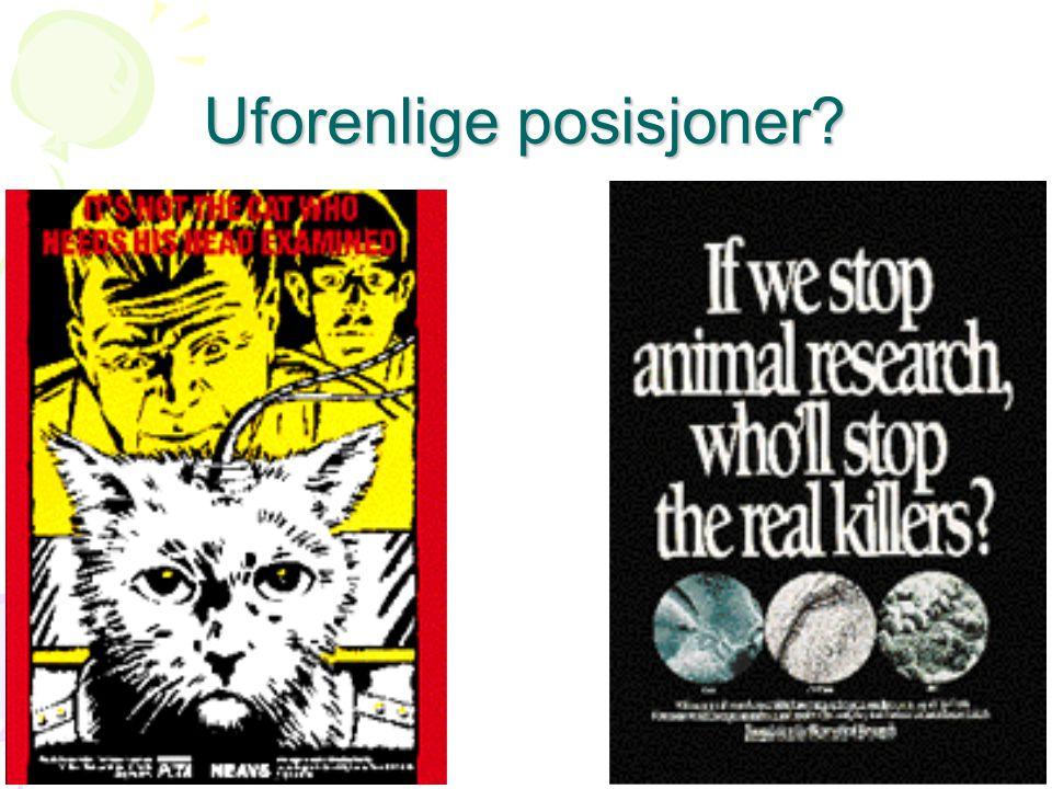 Forskere forsker for forskningens skyld •Eller: kravet om umiddelbar anvendbarhet •Grunnforskning legger grunn for all annen forskning •Medisinsk grunnforskning er ofte dyreforskning •Norge er FOR anvendt i sine målsettinger •Programforskning •Oppdragsforskning •Brukerstyrt forskning •NFR har problemer med å engasjere nærings- interessene i basale problemstillinger –Internasjonale revisjoner konkluderer oftest med at det er for lite grunnforskning i Norge.