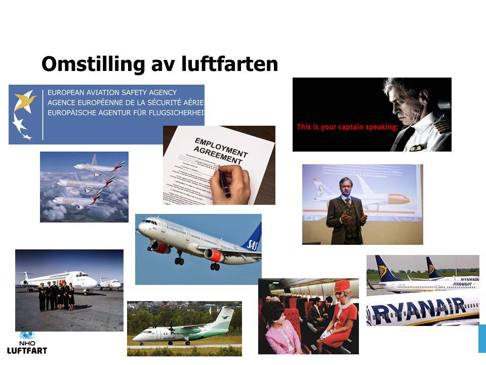 Omstilling av luftfarten