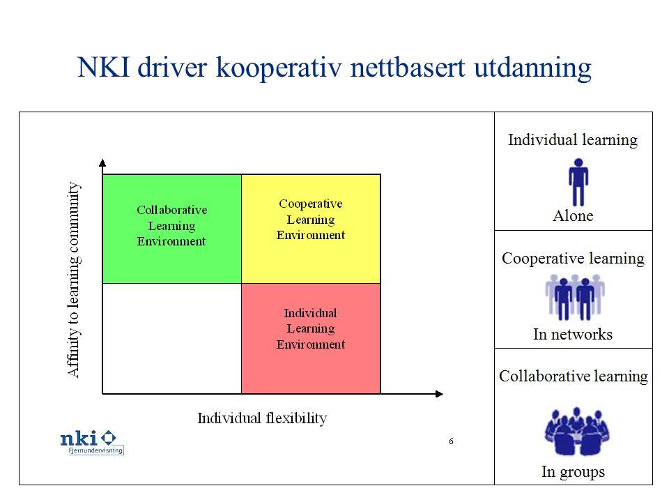 12 NKI driver kooperativ nettbasert utdanning