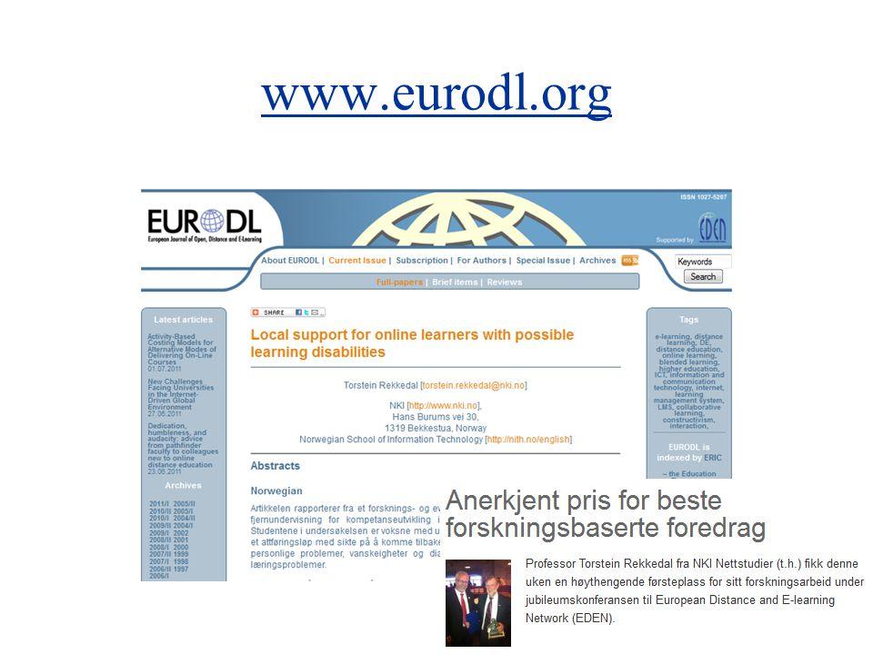 www.eurodl.org 5