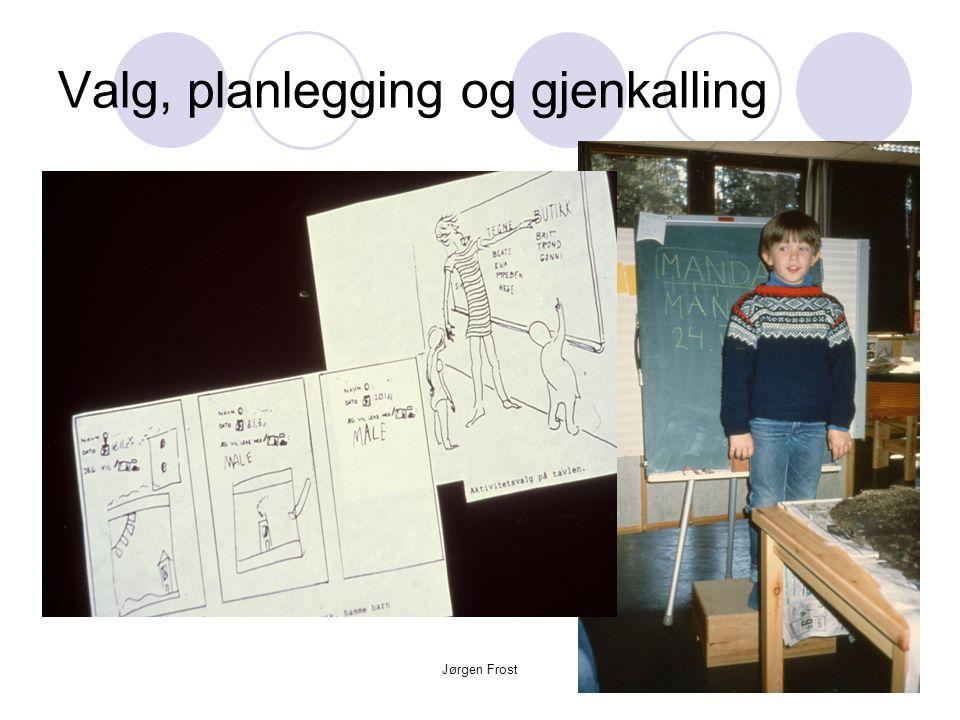 Jørgen Frost Valg, planlegging og gjenkalling