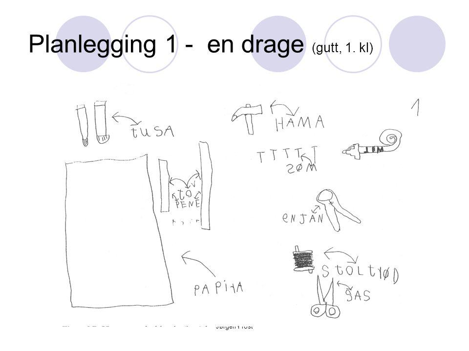 Jørgen Frost Planlegging 1 - en drage (gutt, 1. kl)