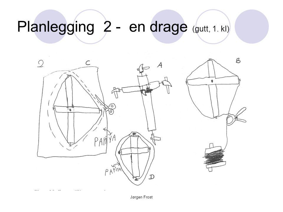 Jørgen Frost Planlegging 2 - en drage (gutt, 1. kl)