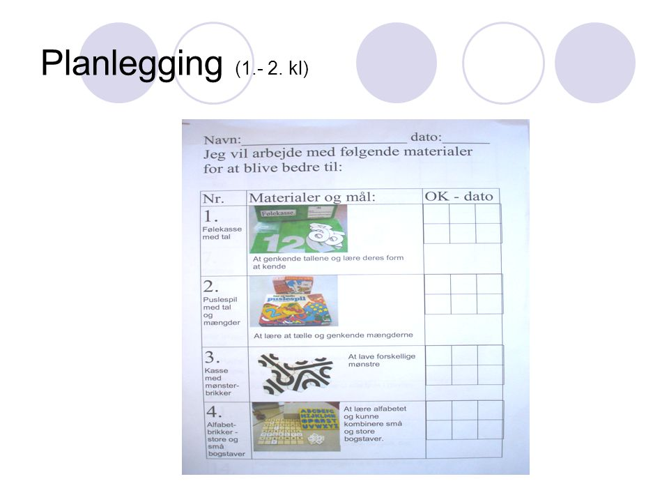 Jørgen Frost Planlegging (1.- 2. kl)