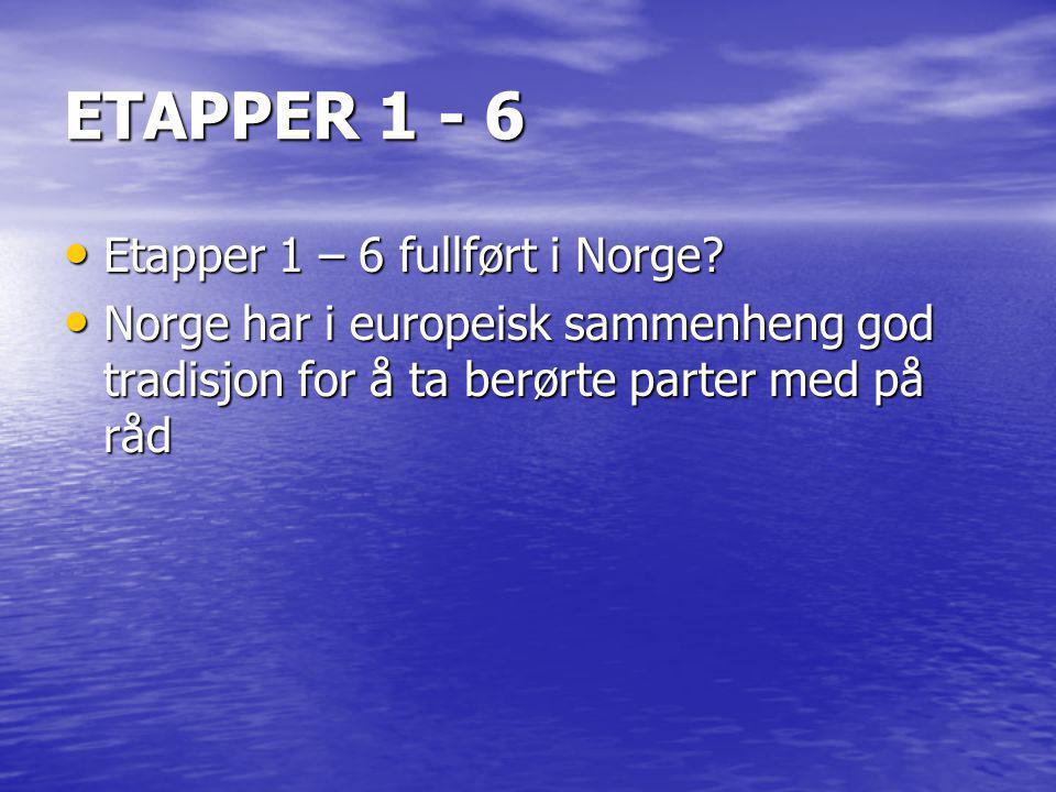 ETAPPE 7: ADMINISTRATIV ORDNING • Nesten ferdig.