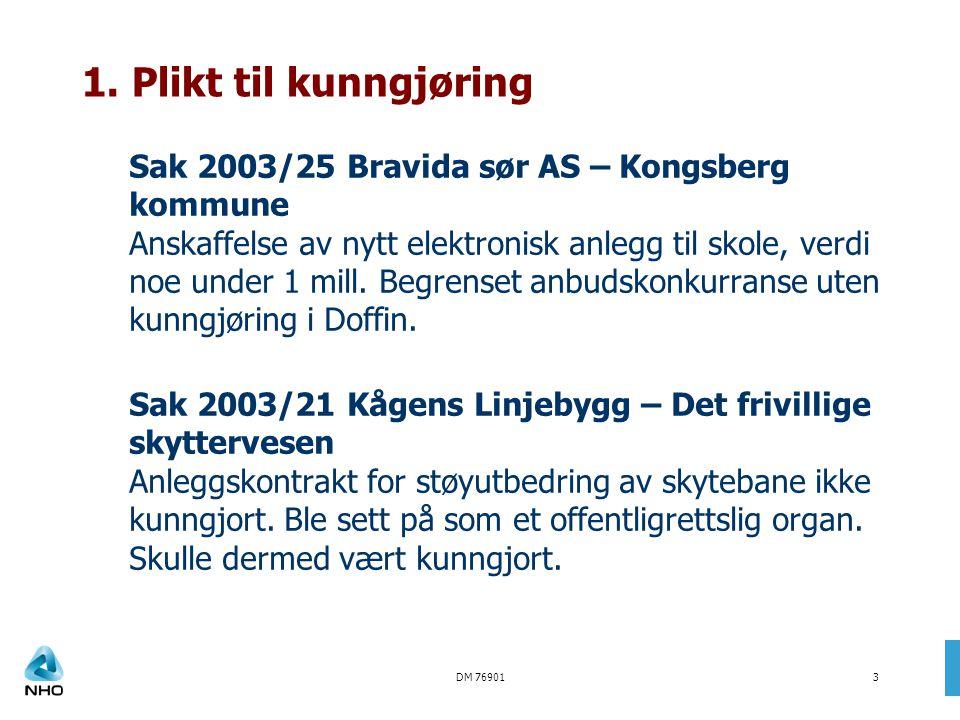 DM 769014 Sak 2003/08 GHV Montasje – Mandal kommune Ombyggingsarbeider på rådhuset som ble delt opp i flere kontrakter fra kr.