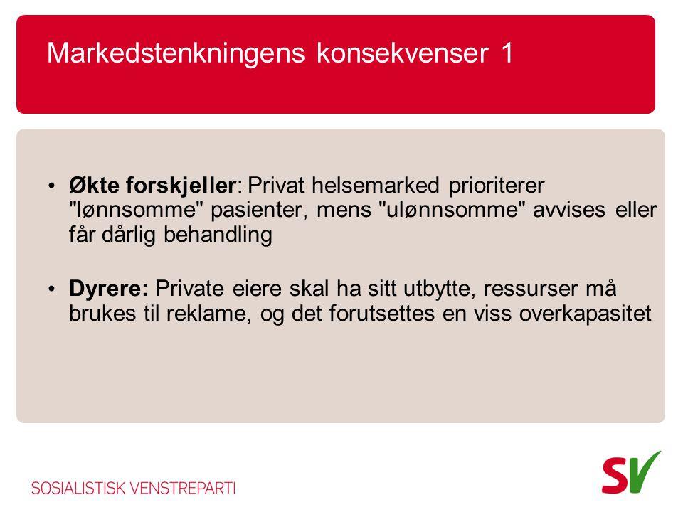 Noen fakta om Oslos omsorgstjenester 2 • Bare hjemmesykepleie Oslo 67+ : 3,5 pr.