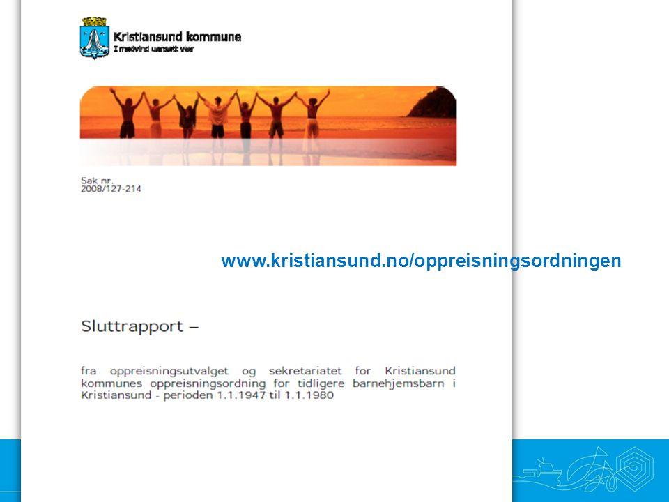 Samhandling • Nyskaping • Optimisme • Raushet www.kristiansund.no/oppreisningsordningen