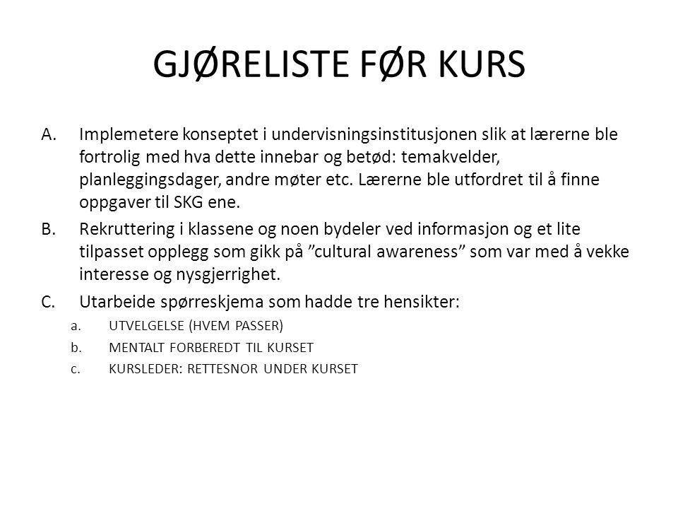 Kunnskaps,-holdnings,-ferdighetsmål •Oversikt over pedagogiske prinsipper i norsk skolevirkelighet.