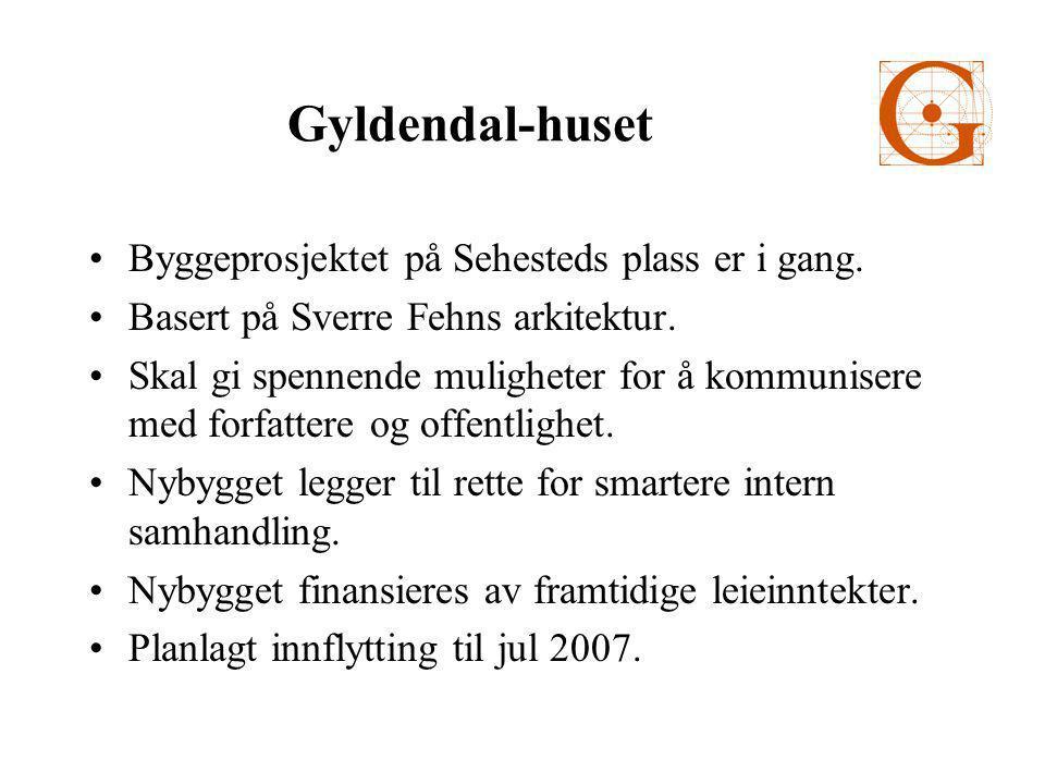 Gyldendal-huset •Byggeprosjektet på Sehesteds plass er i gang.