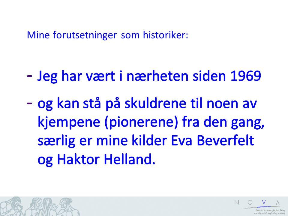 Glimt fra Norge på slutten av 1960-tallet Høyeste allmennutdanning (50-66 år)
