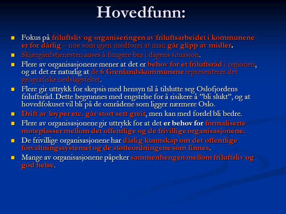Drøft ulike alternativer for hvordan man kan samarbeide om friluftsoppgavene i Grenland:  Ansettelser av egne friluftskonsulenter i kommunene.