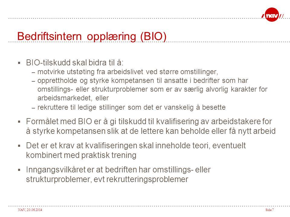 NAV, 20.06.2014Side 8 Hva er omstillings- eller strukturproblemer i denne sammenheng.