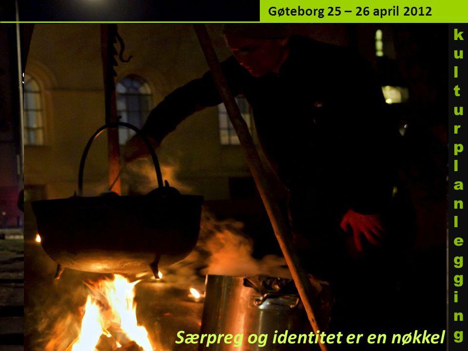 Samarbeid: Studenter fra Bårdar (nabo til Tullinløkka) åpner konferansen Gøteborg 25 – 26 april 2012 Særpreg og identitet er en nøkkel kulturplanleggi