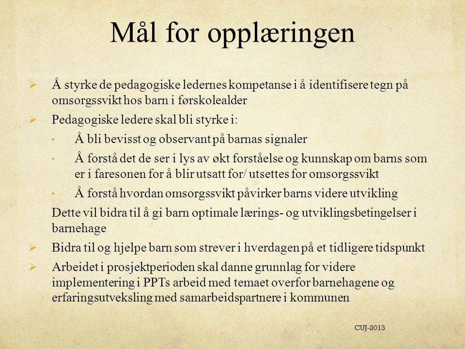 Hentet fra Sveket , 2009 s. 105 CUJ-2013