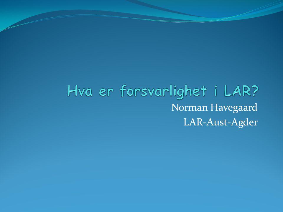 Norman Havegaard LAR-Aust-Agder
