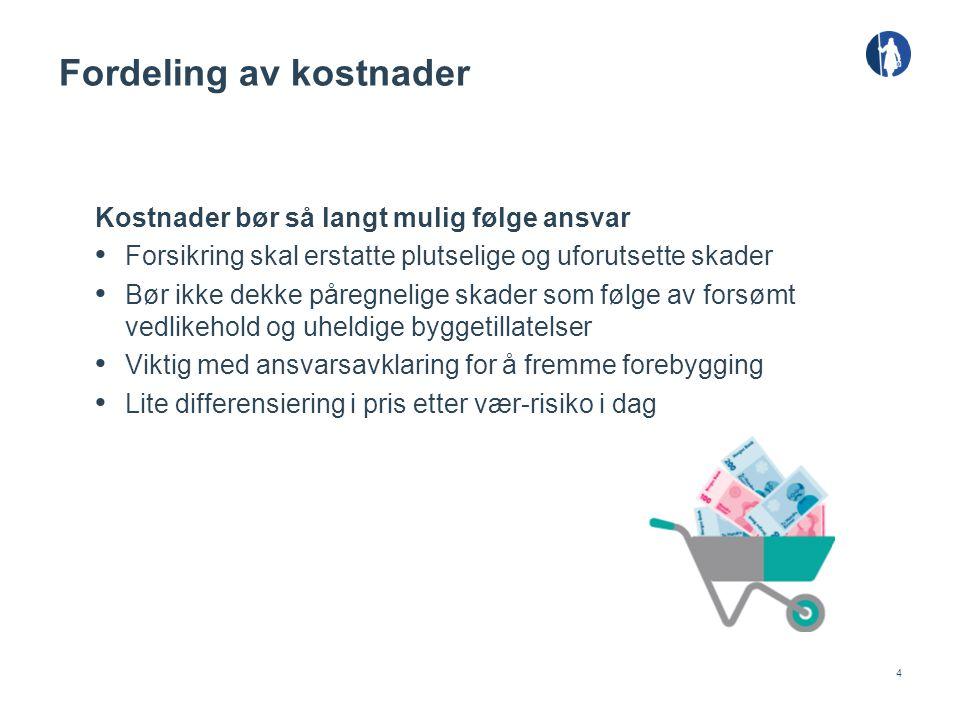 5 Viktige bidrag fra skadeforsikringsbransjen • Pilotprosjekt - skadedata • Nordisk forskningsprosjekt - huseierverktøy • Det offentlige overvannsutvalget • Samarbeid om regress, om stikkledninger m.m.