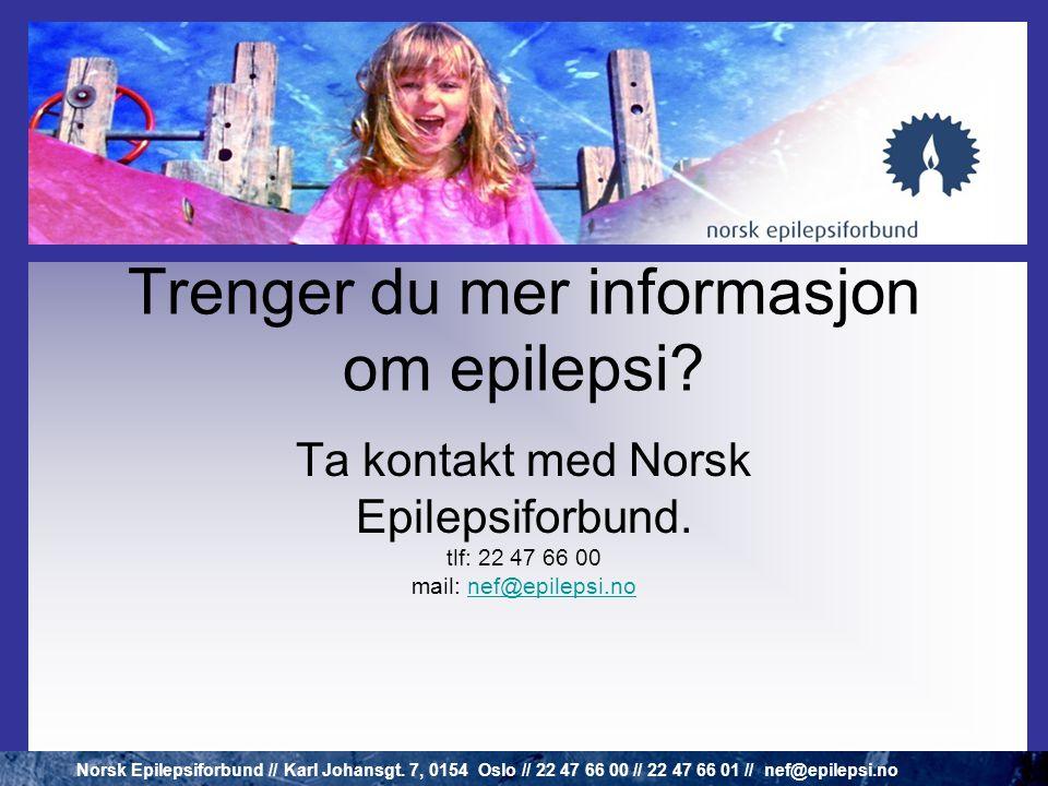 • INNSTILLING - livet blir ofte det man gjør det til • KUNNSKAP - om diagnosen • LØSNINGER - epilepsi er individuelt - hva passer for den enkelte