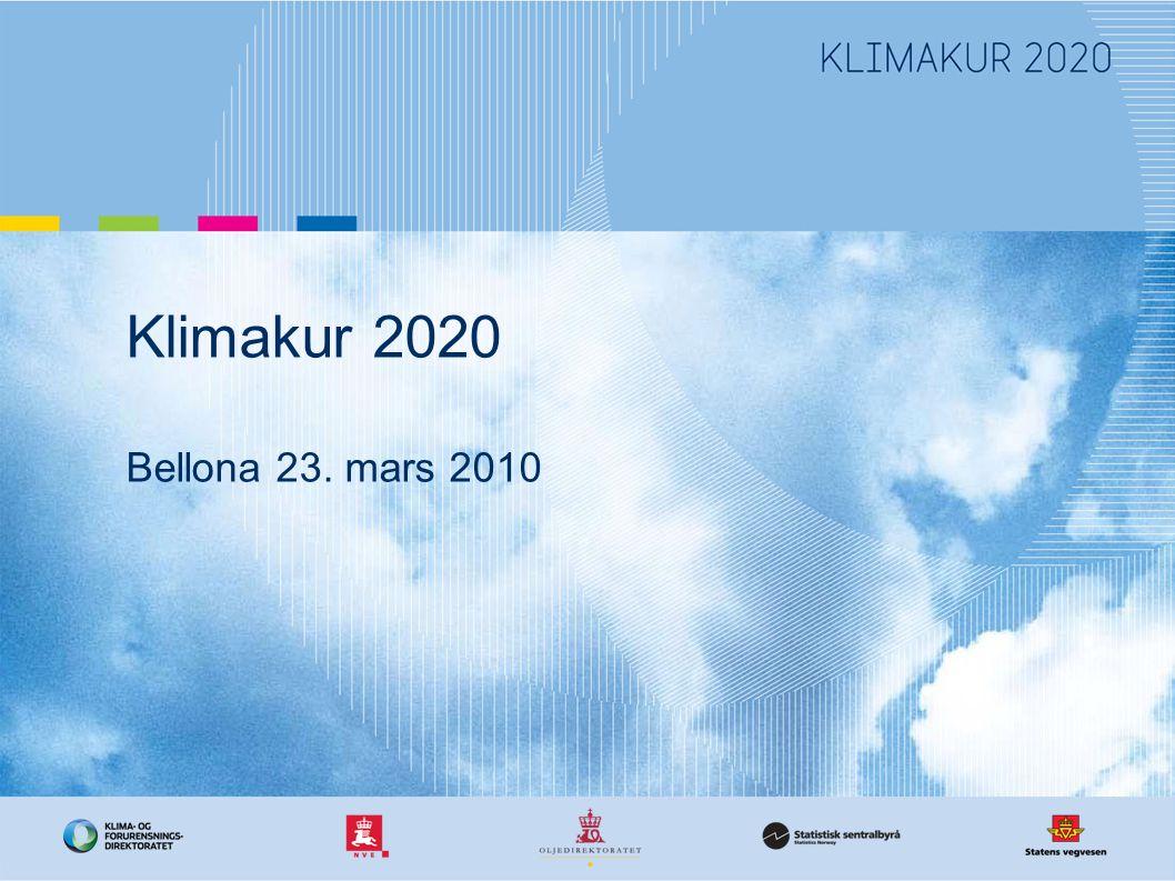 Klimakur 2020 Bellona 23. mars 2010