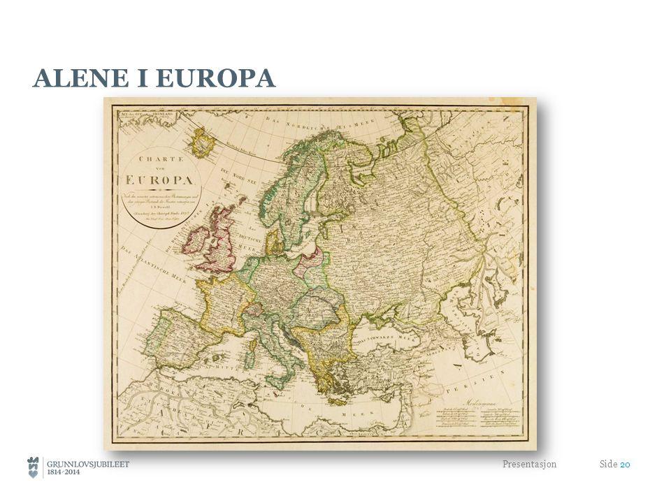 ALENE I EUROPA Presentasjon Side 20