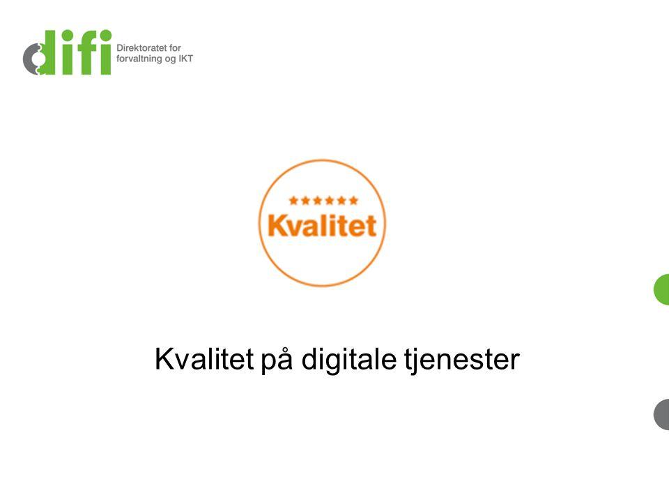 24.03.2014Direktoratet for forvaltning og IKT Fleksibilitet Omfattende men fleksibelt kriteriesett: Et utvalg av kriteriene brukes til testing.