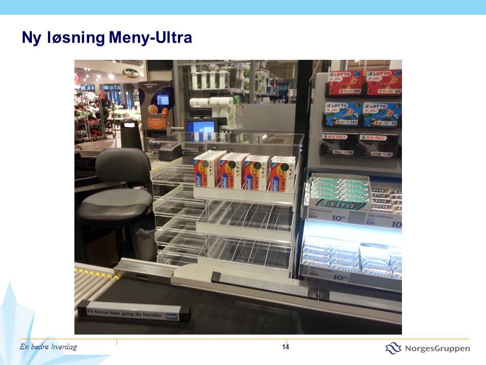 En bedre hverdag 14 Ny løsning Meny-Ultra