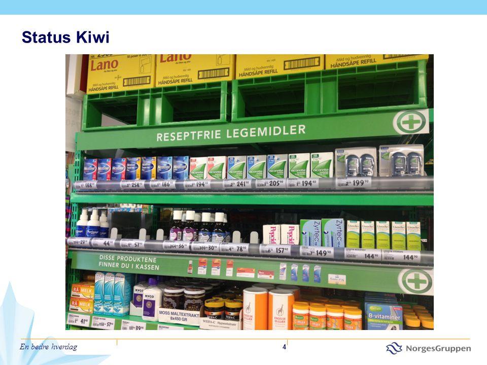 En bedre hverdag 4 Status Kiwi