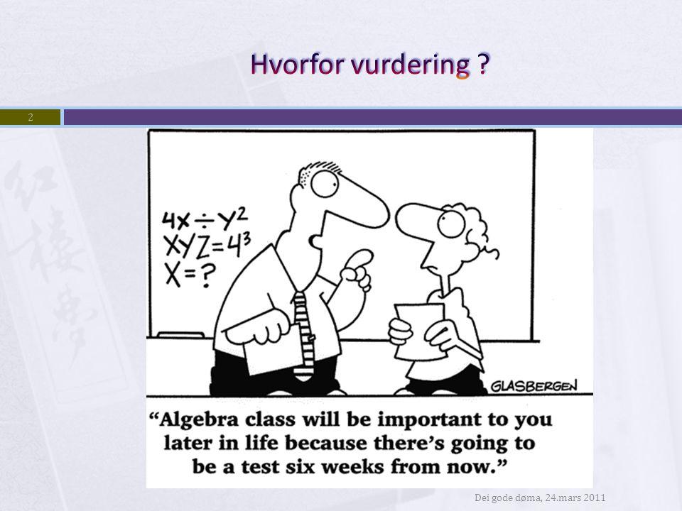 Lærerens utfordring?